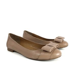Banana Republic Nude Bow Flats (Size 6.5)